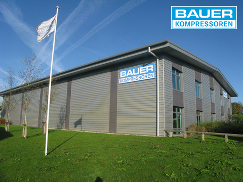 Company building of BAUER Great Britain